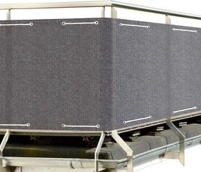 APT Balkónová zástena 5 x 90 cm šedá