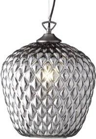 ALI| Retro závesná lampa Farba: Dymové sklo
