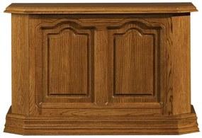 PYKA Kinga rustikálna truhlica drevo D3