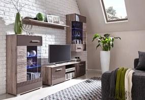 Lacná obývacia stena BRICO zostava 1