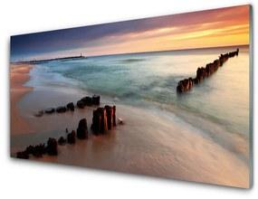 Nástenný panel Oceán pláž príroda 120x60cm