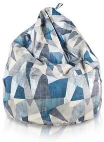 Sedací vak BAG Sako Design Abstract - L