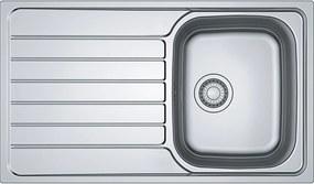 Franke Spark SKX 611, 860x500 mm, kuchynský drez, nerez 101.0387.819