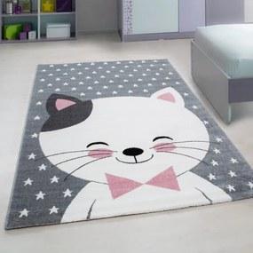 Ayyildiz koberce Kusový koberec Kids 550 pink - 120x170 cm