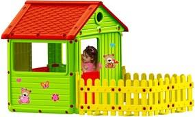 Keny Toys Detský záhradný domček s terasou