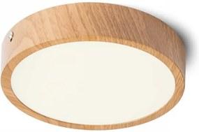 HUE R 17 | stropné okrúhle led svietidlo Farba: Dekor buk