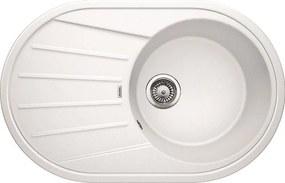 Granitový kuchynský drez - Blanco TAMOS 45 S biela 521392