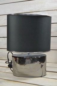 Lampa - strieborná (V:35cm)