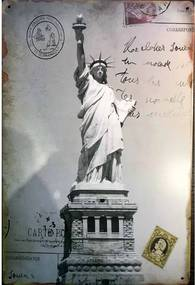 Ceduľa socha slobody