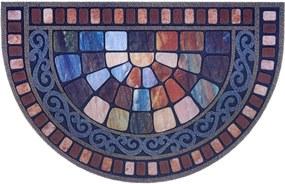 Mujkoberec Original Protiskluzová rohožka Mujkoberec Original 104681 multicolor - 45x75 cm