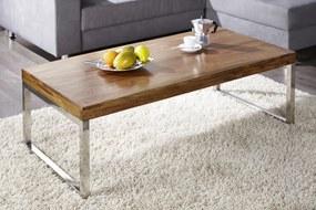 Konferenčný stolík ELEMENTS 100 cm - hnedá
