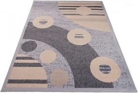 Kusový koberec PP Hans sivý, Velikosti 80x150cm