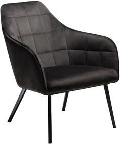 Čierne kreslo DAN-FORM Denmark Embrace