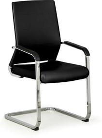 Konferenčná stolička Elite, čierna