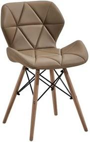 OVN stolička ELIOT cappuccino