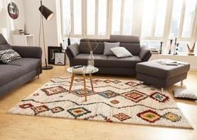 Mint Rugs - Hanse Home koberce Kusový koberec Nomadic 102693 Geometric Creme - 80x150 cm