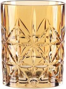 Oranžový pohár na whisky z krištáľového skla Nachtmann Highland Amber, 345 ml