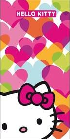 CTI Osuška Hello Kitty Mimi Love 75x150cm