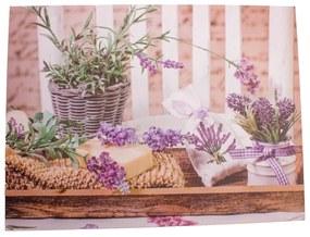 Obraz na plátne Lavender Time, 30 x 40 cm