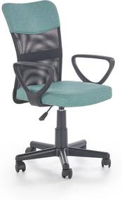 Dětská židle Tampa, tyrkysová / černá