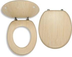 Novaservis WC/BRIZA sedátko na WC dýhované drevo