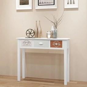 vidaXL Konzolový stolík vo francúzskom štýle, drevený
