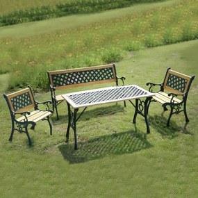 Set záhrad.nábytku 4-dielny AVENBERG HAMILTON