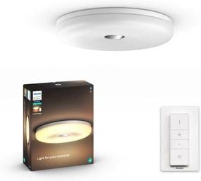 Philips HUE White Ambiance 33064/31/P6 Struana LED stropné kúpeľňové svietidlo 32W/2400lm 2200-6500K +SWITCH IP44 Bluetooth
