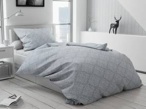 Bavlnené obliečky Hedeon sivé