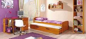 Dětská postel Vojtech, masiv  :  Přírodní