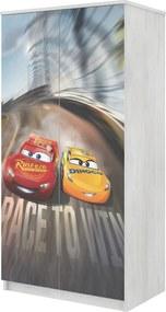 DO Detská skriňa Disney Cars 3