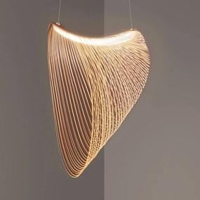 Luceplan Illan LED drevená závesná lampa, Ø 100 cm