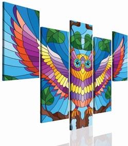 InSmile Obraz pro děti sova 150x70 cm