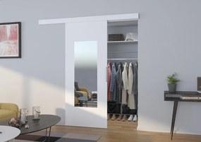 Biele posuvné dvere First - 03 - 106 cm