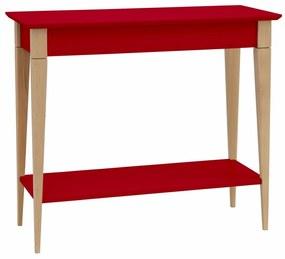 RAGABA Mimo konzolový stôl úzky, červená