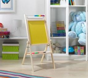 Otočná detská tabuľa - žltá OPNY