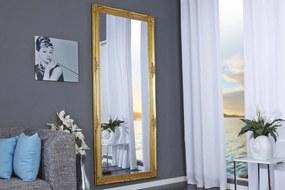Bighome - Zrkadlo RENESANCIA GOLD 185x76 cm - zlatá