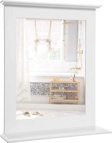 Rongomic Nástěnné zrcadlo VASAGLE bílé