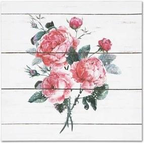Obraz na plátne Roses, 28 x 28 cm