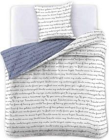 Obliečky na jednolôžko z mikrovlákna DecoKing Poemlight, 155 x 220 cm