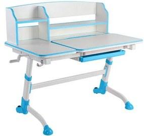 FD Rastúci písací stôl pre deti Amorte II Farba: Modrá