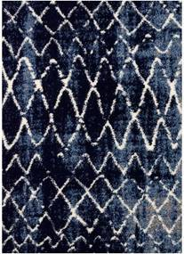 Festival koberce AKCE: 80x150 cm Kusový koberec Loftline K11490-06 Blue - 80x150 cm