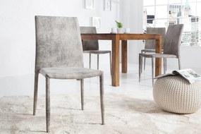 Stolička Neapol Antik sivá