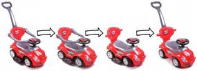 EcoToys Detské odrážadlo, vozítko, chodítko 3v1, 381