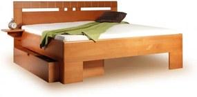 Masívna posteľ s úložným priestorom Vareze 1