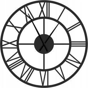 Kovové nástenné hodiny Rím, priemer 70 cm