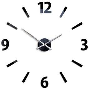 Mazur 3D nalepovací hodiny Klaus černé