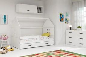 Domčeková posteľ DOMI 160x80cm - Biela - Biela