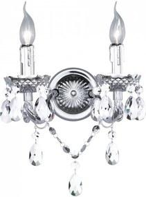 Trio LÜSTER R25072001 Nástenné Lampy biely excl. 2 x E14, max. 40W W:27cm, H:32cm,