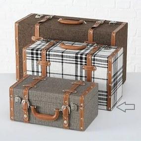 Boltze Drevený kufor 46 cm - stredný